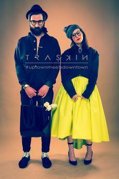 #uptownmeetsdowntown by Traskin , via Behance