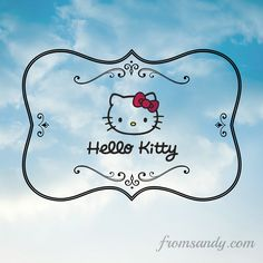 Avon carries Hello Kitty products