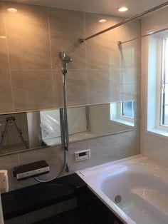 ★WEB内覧会 ~お風呂~   クイーンアンの白いお家を建てるまで Bathtub, Bathroom, Home, Standing Bath, Washroom, Bathtubs, Bath Tube, Full Bath, Ad Home