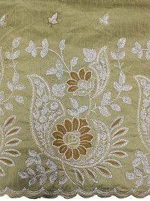 Empire Textiles African Georges - Sequins George CR - Cream PRICE - £60.00