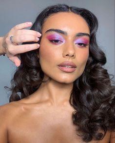 Glam Makeup, Cute Makeup, Pretty Makeup, Beauty Makeup, Casual Makeup, Makeup Eye Looks, Eye Makeup Art, Skin Makeup, Makeup Looks For Brown Eyes