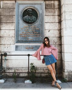 "Aimee Song on Instagram: ""Posing next to Jacopo's great grandfather-ish. http://liketk.it/2ot9C #liketkit"""