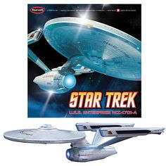 Star Trek USS Enterprise NCC-1701-A 1:350 Scale Model Kit.