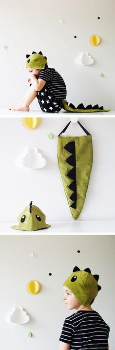 The Dinosaur - Handmade Children's Costume