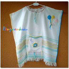 Rengarenkoku: peştemal plaj elbiseleri pançolar çocuklarımız için...
