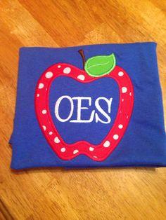 Whimsical Apple- OES