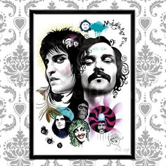 Cool poster for the Mighty Boosh! by freakylittlethings