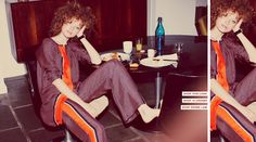 The photo makes these look like PJs but I'd rock this look at a fabulous dinner party.