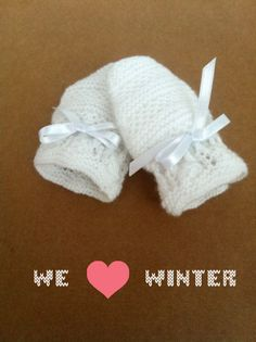 MITTS-BABY, Pattern free, Knitting