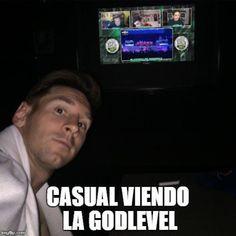 Messi en sus tiempos libres