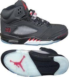 1 Pair New Jordan 5 Wolf Grey w// White Jumpman Replacement lace lock V Metallic