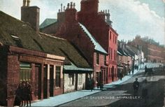 Old Causeyside, Paisley - one of the main streets in the town.