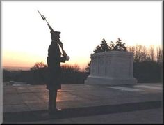 Go to the tomb of the unknown soldier (Arlington, Virginia)