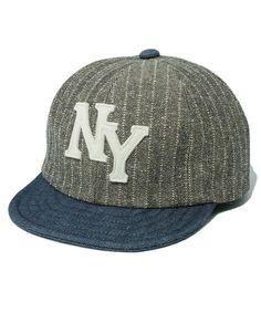 Herringbone Jackman Herringone Baseball Cap Baseball Cap Made in Japan (Beige)