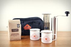 Poler x Stumptown Camp Coffee Kit  This is growing on me as a camping necessity.