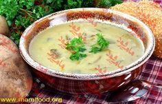 طرز تهیه عالی #سوپ_سیب_زمینی_و_کرفس بسیار دلچسب و خوشمزه در مامی فود با دستور آسان پخت سوپ به عنوان پیش غذای مطلوب