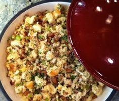 It's almost Thanksgiving! Try my mom's Portuguese Dressing. It's one of my favorites #EmerilsHoliday