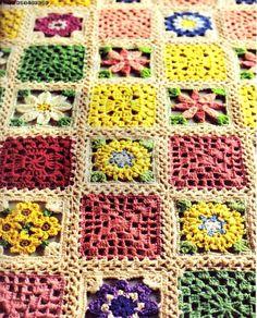 200 Design Flower Motif of Crochet by Couturier. — HandMade