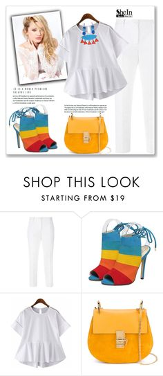 """""""SheIn"""" by amra-mak ❤ liked on Polyvore featuring Dolce&Gabbana, Silvana, Chloé and shein"""