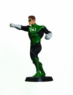 """DC Direct DC Universe Online Statue: Green Lantern by DC Direct. $70.00. Character-specific logo base consistent with other statues in series. Limited edition. Measures 7"""" H x 5.25"""" W x 4.2"""" D. Based on the art of comic book superstar Jim Lee from Sony Entertainment's Massively Multi-Player Online Game. Hand-painted, cold-cast porcelain. From the Manufacturer                The DC Universe Online Statues are from Sony Entertainment's Massively Multi-Player Onl..."""