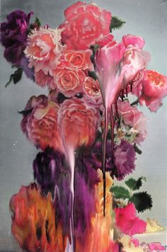 Bunches of love by artist Nick Knight