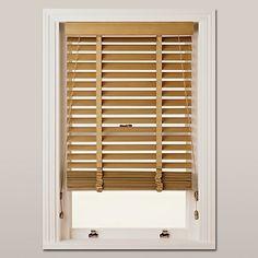 Buy John Lewis Wood Venetian Blind, 50mm, FSC-certified Online at johnlewis.com