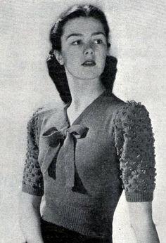 Ретро - настроение. Вязание, 1940-е... - Ярмарка Мастеров - ручная работа, handmade
