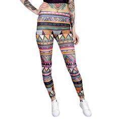 Värikkäät Legginsit Kuvioilla | Cybershop Summer, Pants, Fashion, Trouser Pants, Moda, Summer Time, Fashion Styles, Women's Pants, Women Pants
