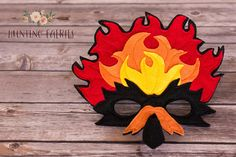 Río la Phoenix Phoenix máscara para disfraz o pretender jugar