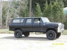 The ford centurion c350.  This is a legit four door bronco that i could use as a daily and then some!