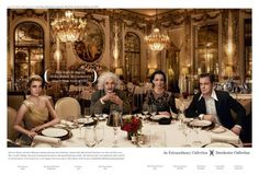 great ad for the Dorchester Hotel group