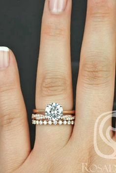 Wedding Ring Sets That Make The Perfect Pair ❤ See more: http://www.weddingforward.com/wedding-ring-sets/ #weddin