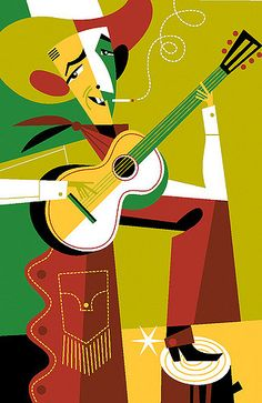 Jimmie Rodgers by Pablo Lobato Jimmie Rodgers, Music Illustration, Illustrations, Old Country Music, Caricature Drawing, Folk Music, Blue Art, Good Old, Rockabilly