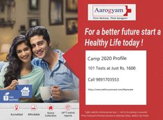 In Association With Thyrocare Free Home Sample Collection Package Includes : 101Tests C Reactive Protein, Iron Deficiency, Uric Acid, Hdl Cholesterol, Red Blood Cells, Test Preparation, Thyroid