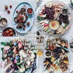 VSCO Filters for Food – VSCO FILTER HACKS White Instagram Theme, White Feed, Best Vsco Filters, Vsco Pictures, Vsco Presets, Instagram Feed, Food Photography, Ethnic Recipes, Insta Ideas
