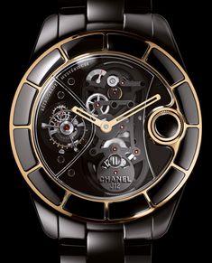 Recently Retired: Chanel J12 Rétrograde Mystérieuse Tourbillon Watch Feature Articles