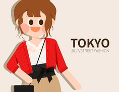 """Check out new work on my @Behance portfolio: """"2017 TOKYO girl's fashion in S/S"""" http://be.net/gallery/51737087/2017-TOKYO-girls-fashion-in-SS"""