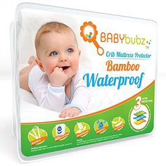 Crib Mattress Pee Protector - BabyBubz Waterproof Pad Cover - 4 Ply Natural Organic Cotton Fiber - Fitted, Soft, Breathable, Non-Toxic, Hypoallergenic Pack N Play Mattress, Best Crib Mattress, Mattress Covers, Mattress Protector, Baby Bedding Sets, Baby Nursery Bedding, Baby Crib Diy, Baby Cribs, Baby Boy