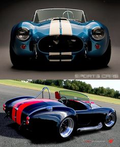 1965 Shelby Cobra 427.  If I had an obscene amount of money...this is the car I would drive...badly, of course!