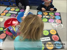 100th Day of School: Fruit loop necklace sorting mat template {freebie}