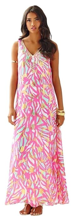 Lilly Pulitzer New W/tags $368 Retail Maxi Size 2 (shipping Included) Maxi…