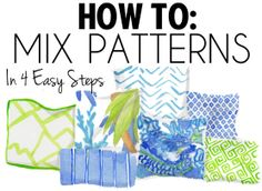 How to Mix Patterns in 4 Easy Steps
