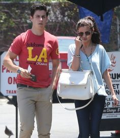 Selena Gomez Joins David Henrie for lunch at Kabuki, Hollywood