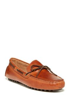 Air Grant Driving Moccasin - Wide Width Available by Cole Haan in Papaya tan light brown