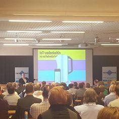 Varokaa vedenkeitintä . Loistava keynote #mikkohyppönen #fsecure #tietoturva #iot #tietoiskuseminaari #tietokeskus by kajoko