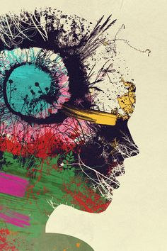 Artist Portrait iPhone Wallpaper Download  - iLikeWallpaper is the Best Source for Free iPhone Wallpapers www.ilikewallpaper.net