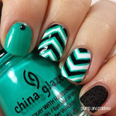 Plump and Polished: The Beauty Buffs - Stripes