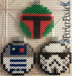 Star Wars Ornaments by PerlerPixie on DeviantArt