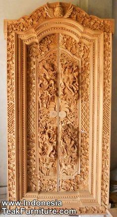 Традиционные балийские Двери: