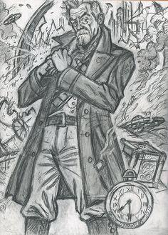 The War Doctor (rough prep sketch) by rainesz.deviantart.com on @deviantART